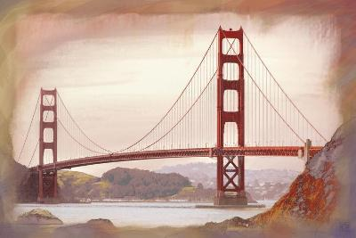 SF Golden Gate Bridge-Jeffrey Cadwallader-Art Print