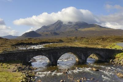 Sgurr Nan Gillean from Sligachan, Isle of Skye, Inner Hebrides, Scotland, United Kingdom, Europe-Gary Cook-Photographic Print
