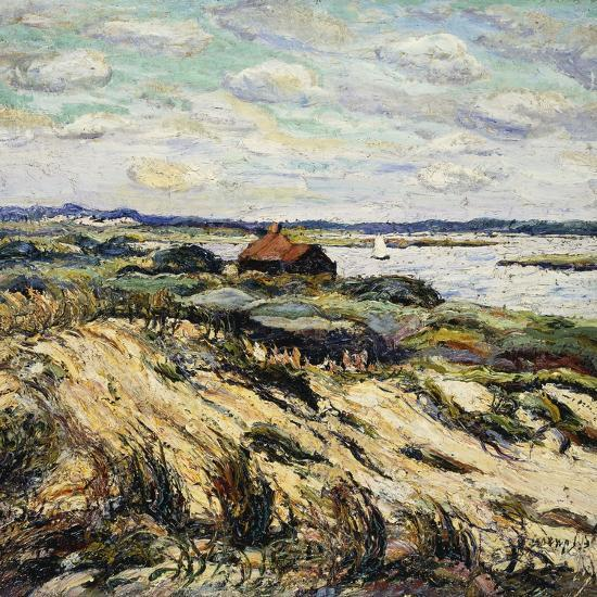 Shack on the Bay-Ernest Lawson-Giclee Print