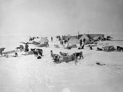 Shackleton's Base Camp on the Ross Ice Shelf--Photographic Print