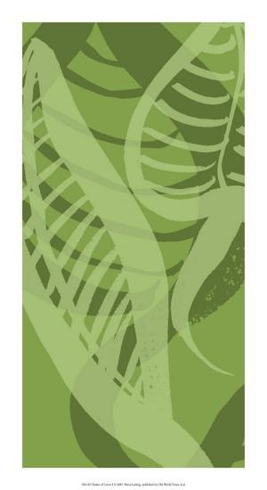 Shades of Green I-Alicia Ludwig-Giclee Print