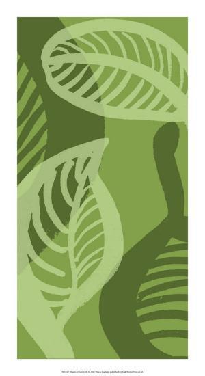 Shades of Green III-Alicia Ludwig-Giclee Print
