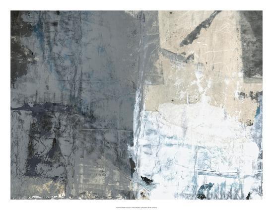Shades of Grey I-Elena Ray-Art Print