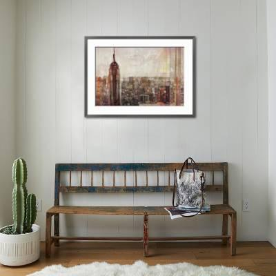 Shades Of New York Art Print Markus Haub Art Com