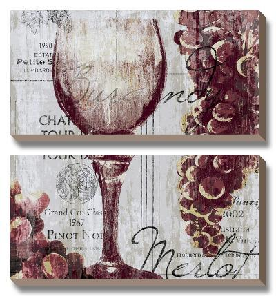 Shades of Red I-Tandi Venter-Canvas Art Set