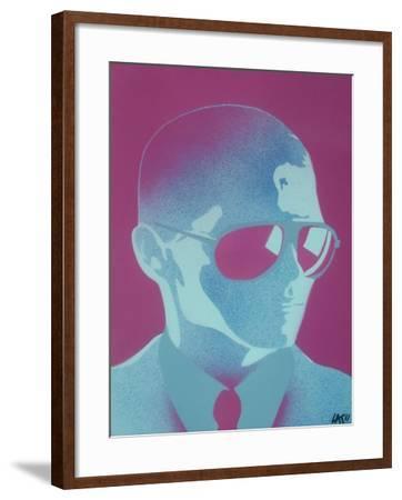 Shades-Abstract Graffiti-Framed Giclee Print