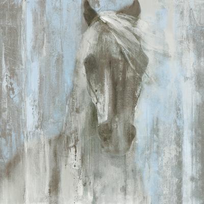 Shadow Light v.2 on Blue-Albena Hristova-Art Print