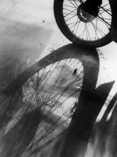 Shadow Wheel--Photographic Print