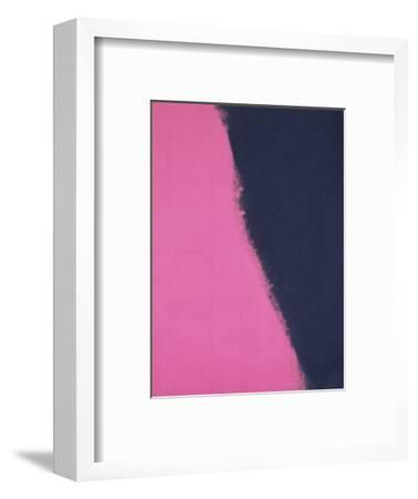 Shadows II, 1979 (pink)-Andy Warhol-Framed Art Print