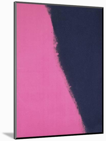 Shadows II, 1979 (pink)-Andy Warhol-Mounted Art Print