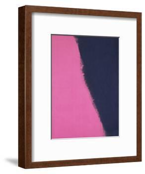 Shadows II, 1979 (pink)-Andy Warhol-Framed Art Print