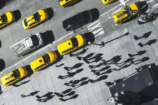 Shadows in NY-Moises Levy-Photographic Print