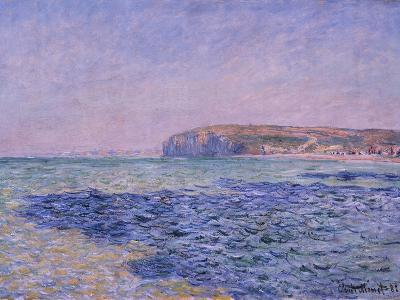 Shadows on the Sea, the Cliffs at Pourville, 1882-Claude Monet-Giclee Print