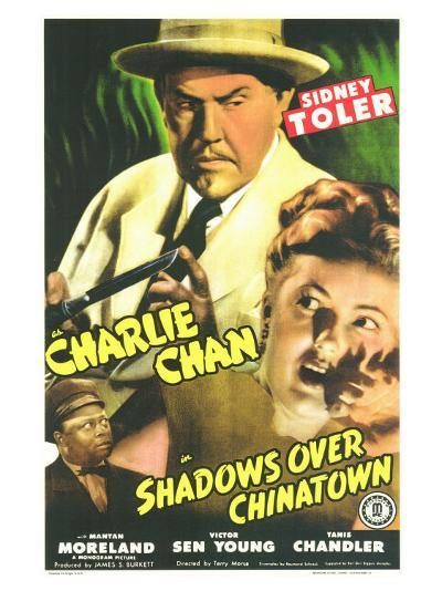 Shadows Over Chinatown, 1946--Art Print