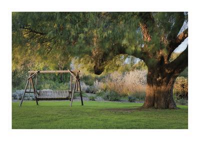 Shady Garden Retreat-Donald Paulson-Giclee Print