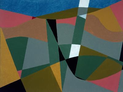 Shafted Landscape, 2001-George Dannatt-Giclee Print
