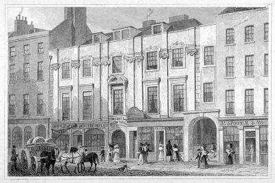 Shaftesbury House, Aldersgate Street, City of London, 1830-Thomas Hosmer Shepherd-Giclee Print