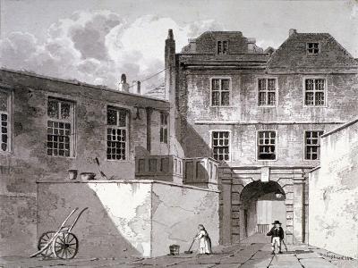 Shaftesbury House, Aldersgate Street, London, 1811-George Shepherd-Giclee Print