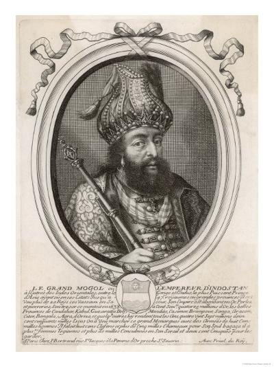 """Shah Jahan I """"Le Grand Mogol Ou l""""Empereur d""""Indostan"""" Mughal Emperor from 1628 to 1658--Giclee Print"""