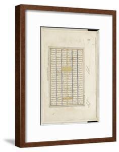 Shahnameh de Ferdowsi ou le Livre des Rois. Page de texte