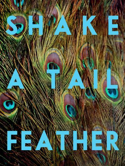 Shake a Tail Feather-Keren Su-Art Print