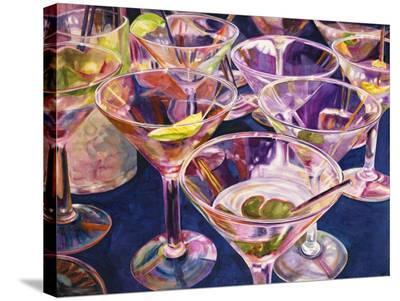 Shaken not Stirred-Karen Honaker-Stretched Canvas Print