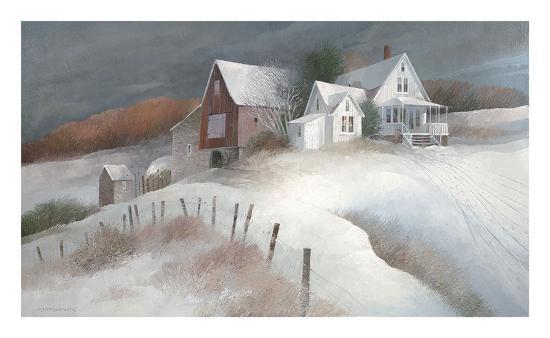 Shaker Mill Farm sw-Albert Swayhoover-Art Print