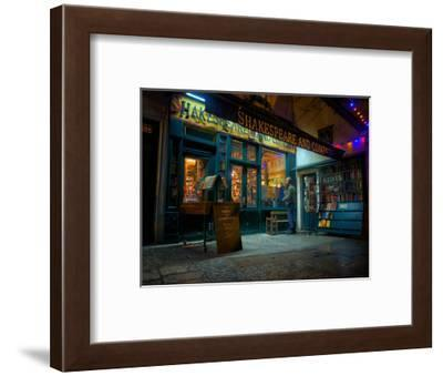 Shakespeare and Company Bookstore, Paris, France, Europe-Jim Nix-Framed Photographic Print