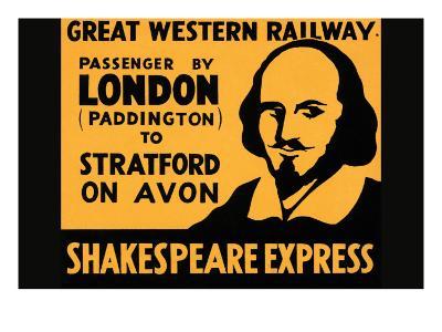 Shakespeare Express--Art Print