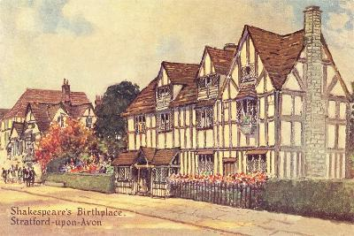 Shakespeare's Birthplace--Art Print