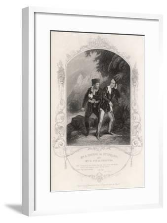Shakespeare: Tempest--Framed Giclee Print