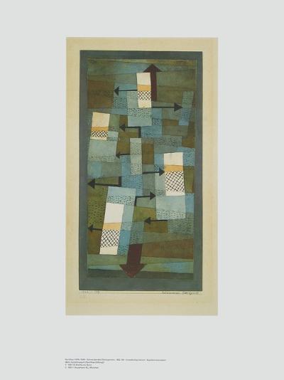 Shaky Balance-Paul Klee-Art Print