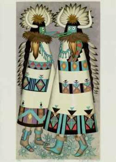 Shalako Dancer-Alice Asmar-Collectable Print