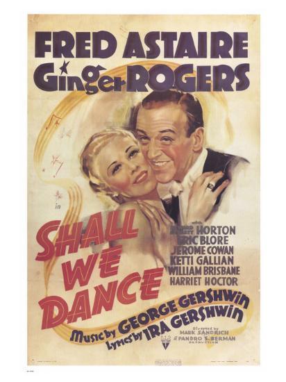 Shall We Dance, 1937--Art Print