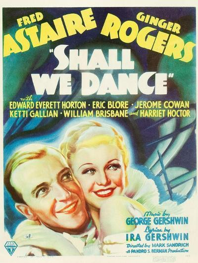 Shall We Dance?, Fred Astaire, Ginger Rogers, 1937--Art Print