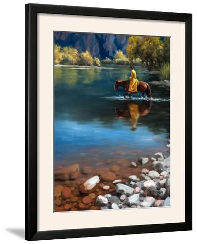 Shallow Crossing-Jack Sorenson-Framed Photographic Print