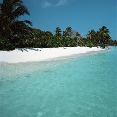 Shallow Water Near a Tropical Beach--Photographic Print