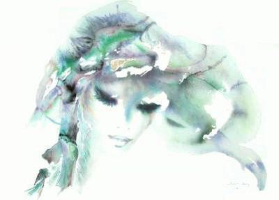 Portrait de jeune fille I