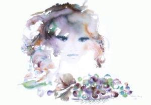 Portrait de jeune fille II by Shan-Merry