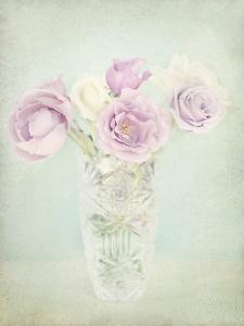 Vintage Flowers I by Shana Rae