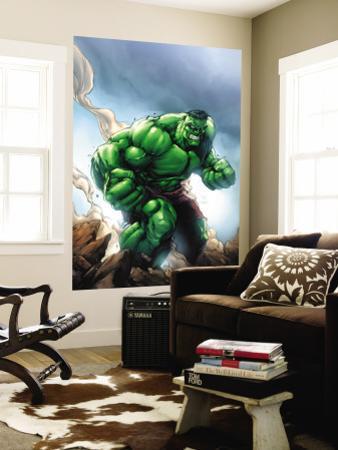 Marvel Age Hulk No.1 Cover: Hulk