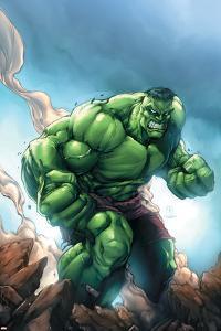 Marvel Age Hulk No.1 Cover: Hulk by Shane Davis