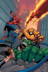 Spider-Man Team-Up Special No.1 Cover: Spider-Man by Shane Davis