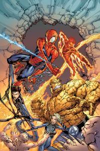Spider-Man Team-Up Special No.1 Group: Spider-Man by Shane Davis