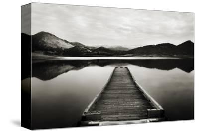Emigrant Lake Dock I in Black and White
