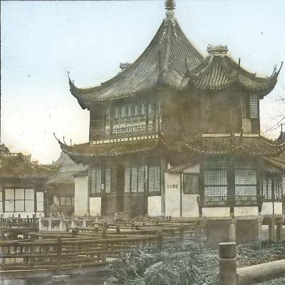 Shanghai (China), Mandarin Yu's Yu Yuan Garden, Tea Garden (#7)-Leon, Levy et Fils-Photographic Print