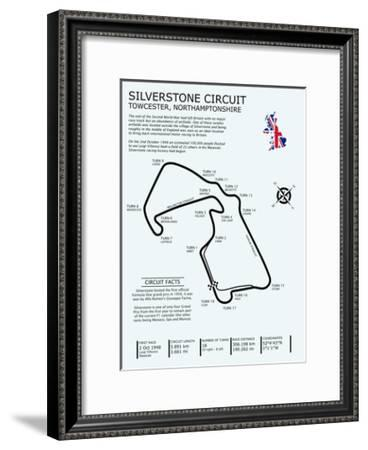 Shanghai Intl. Circuit-Mark Rogan-Framed Giclee Print