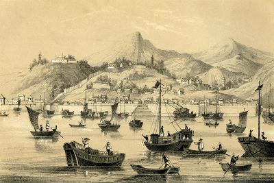 Shanghai, One of the Five Ports Opened by the Late Treaty to British Commerce, 1847--Giclee Print