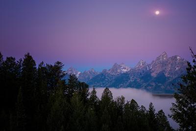 Shangri-La Beneath The Summer Moon, Wyoming--Photographic Print