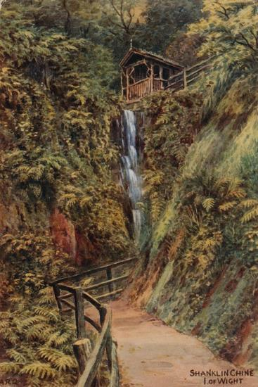 Shanklin Chine, Isle of Wight-Alfred Robert Quinton-Giclee Print